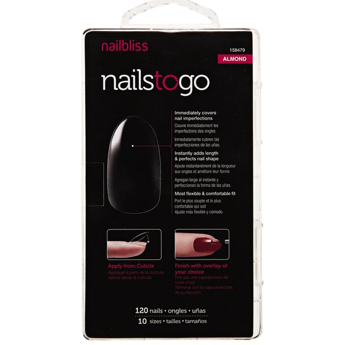 Nails to Go - Almond