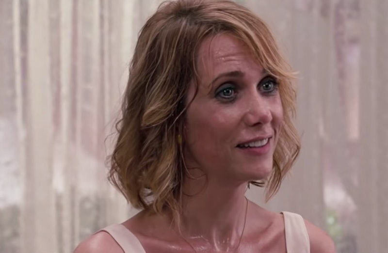 Kristin Wiig sweats in the film Bridesmaids. If you're always hot, these seven reasons could be the culprit.