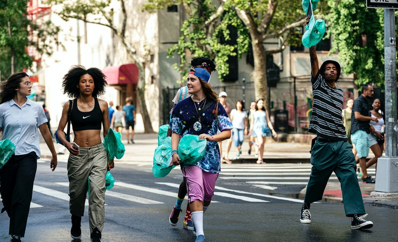 "Rachelle Vinberg, Ardelia ""Dede"" Lovelace, Nina Moran, Moonbear, and Raekwon Haynes in 'Betty'"
