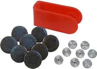 SINGER Jean Buttons Kit (8-Pack)