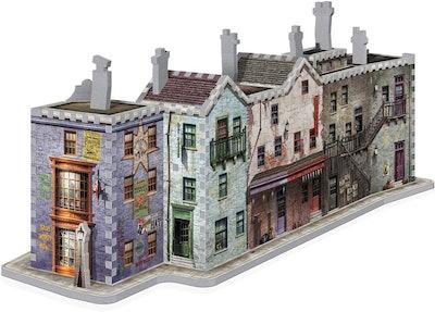 WREBBIT 3D Diagon Alley 3-D Jigsaw Puzzle (450 Pieces)