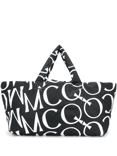 McQ Alexander McQueeen Oversized Logo Padded Tote