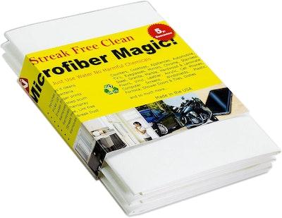 Microfiber Magic Streak Free Cloth (3-Pack)