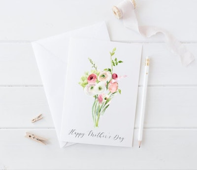 Floral Bouquet Card