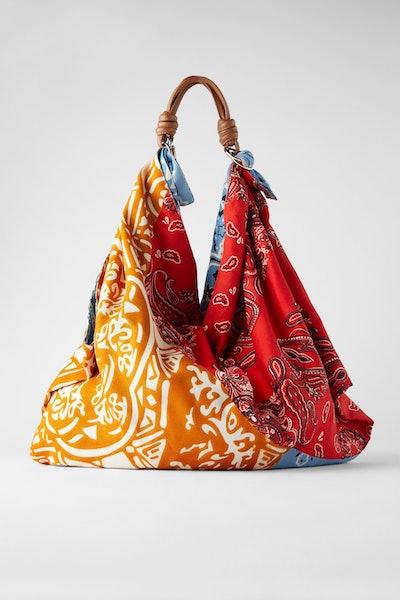 Zara Scarf Shoulder Bag