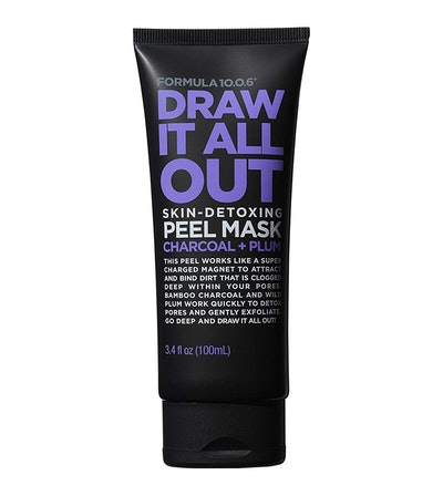 FORMULA 10.0.6 Six Draw It All Out Skin-Detoxing Charcoal + Plum Peel Mask