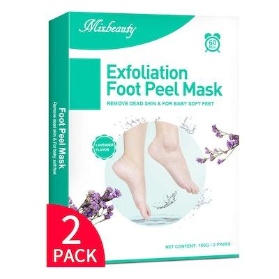 Mixbeauty Foot Peel Mask (2-Pack)