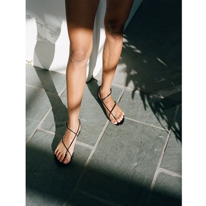 Emerging brand Emme Parsons is making the minimal shoe that is trending for Spring/Summer 2021.