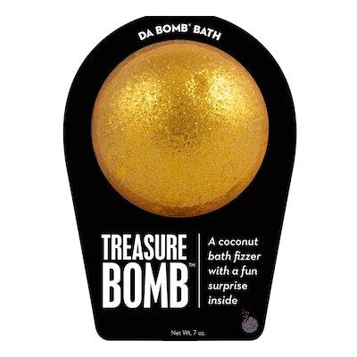 Da Bomb Treasure Bath Bomb, Gold