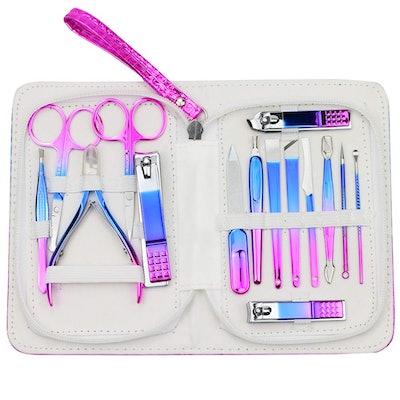 Zizzon Manicure And Pedicure Tool Set