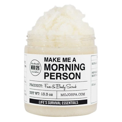 Mojo Spa Make Me a Morning Person Face & Body Scrub