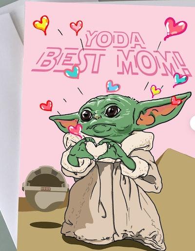 Yoda Best Mom