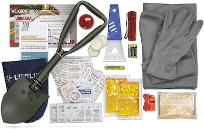 Lifeline AAA Severe Weather Road Safety Kit (66-Piece Set)