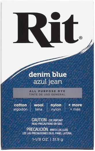 Rit Denim Blue Powder Dye