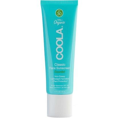 Classic Face Organic Sunscreen Lotion SPF 30 Cucumber
