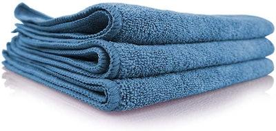 Chemical Guys Workhorse Professional Grade Microfiber Towel (3-Pack)