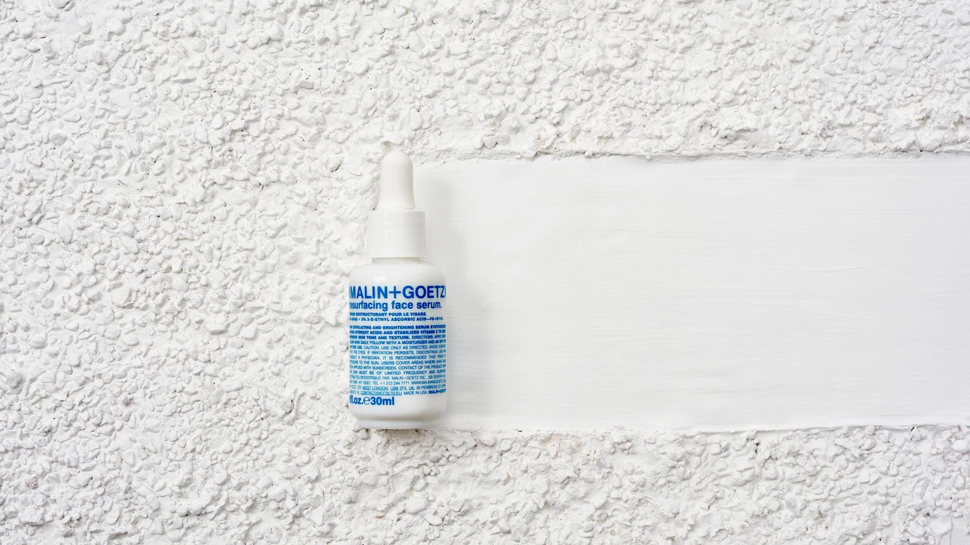 Malin Goetz S New Resurfacing Face Serum Offers Chemical