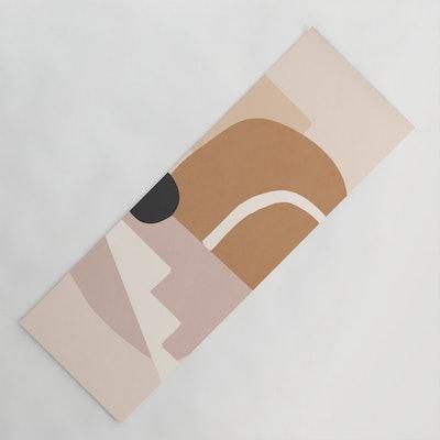 Abstract Minimal 24 Yoga Mat