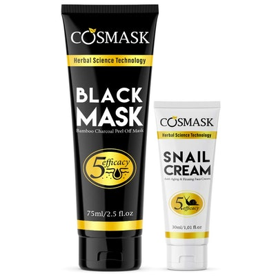 Cosmask Black Mask & Snail Cream