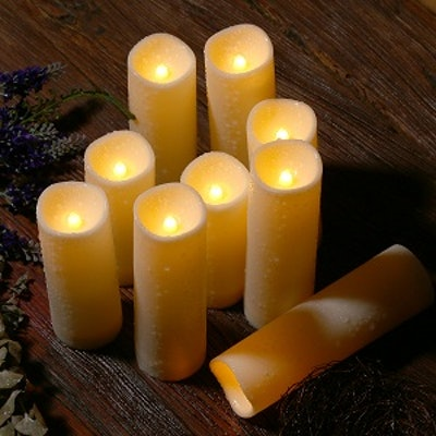 Enido Flameless Candles With Remote (12-Pack)