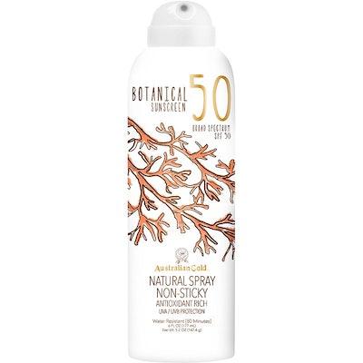 Botanical Continuous Spray Sunscreen SPF 50