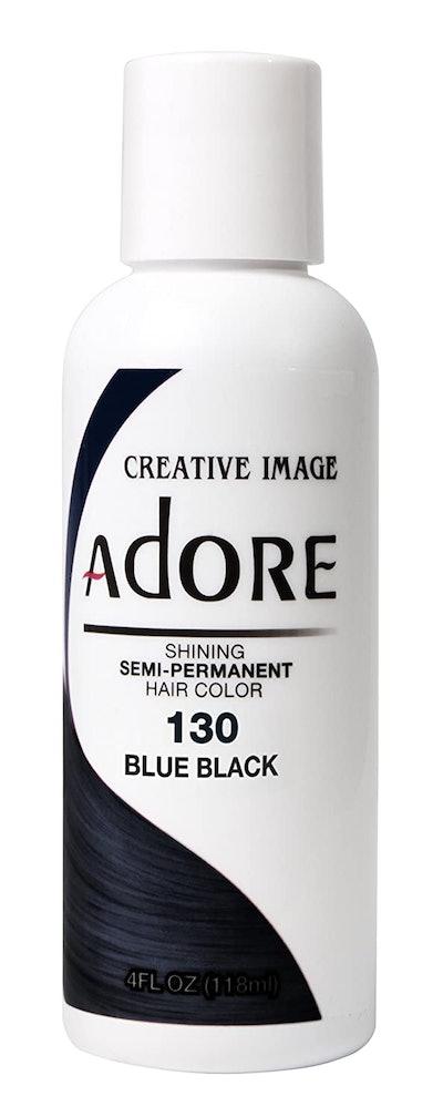 Adore Semi-Permanent Hair Color, #130 Blue Black