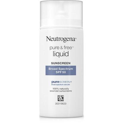 Sensitive Skin Face Liquid Sunscreen SPF 50