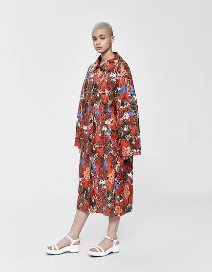 Floral Duster Coat