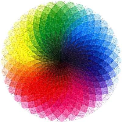Moruska Round Rainbow Puzzle