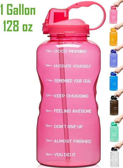 Venture Pal Motivational Water Bottle (128 Ounces)