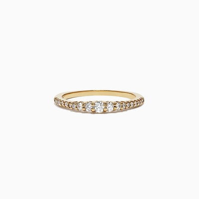 Pave Classica 14K Yellow Gold Diamond Band Ring