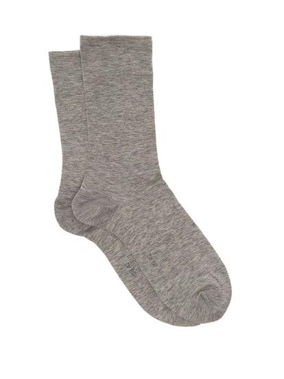 Sensual Cotton-Blend Socks