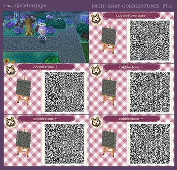 Animal Crossing New Horizons Designs 10 Qr Codes For Stone