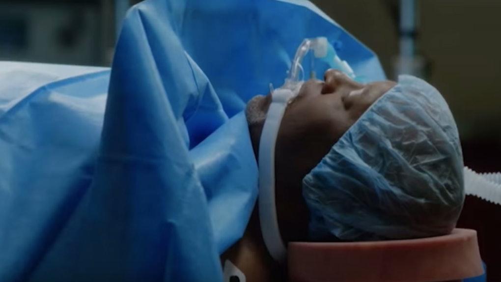 Webber in the 'Grey's Anatomy' Season 16 finale promo