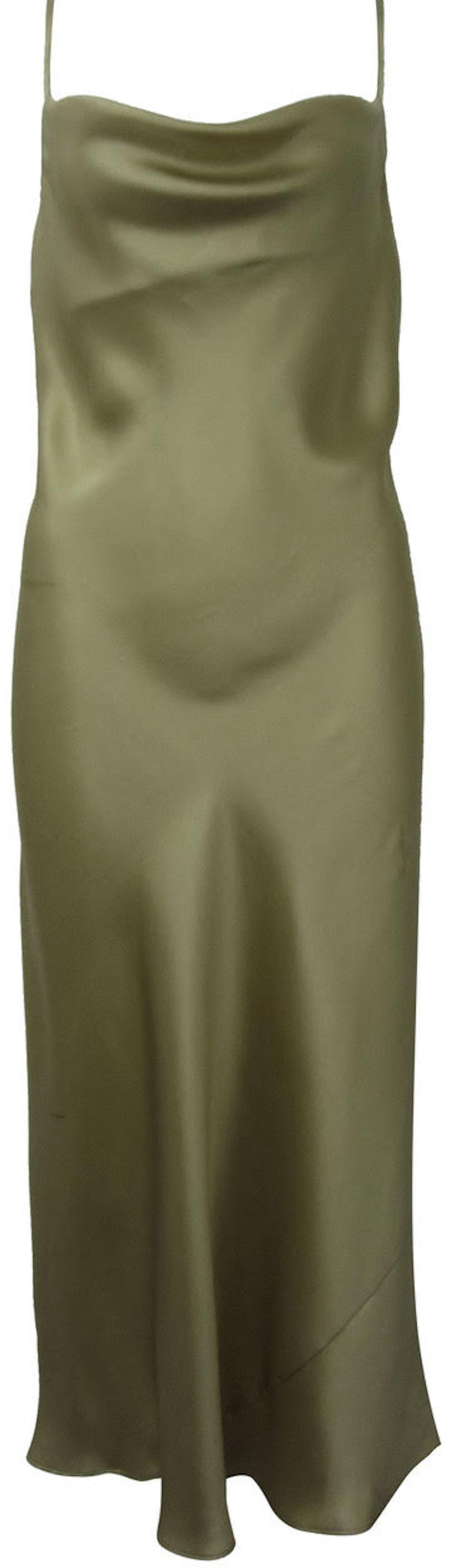 Celia Silk Slip Dress