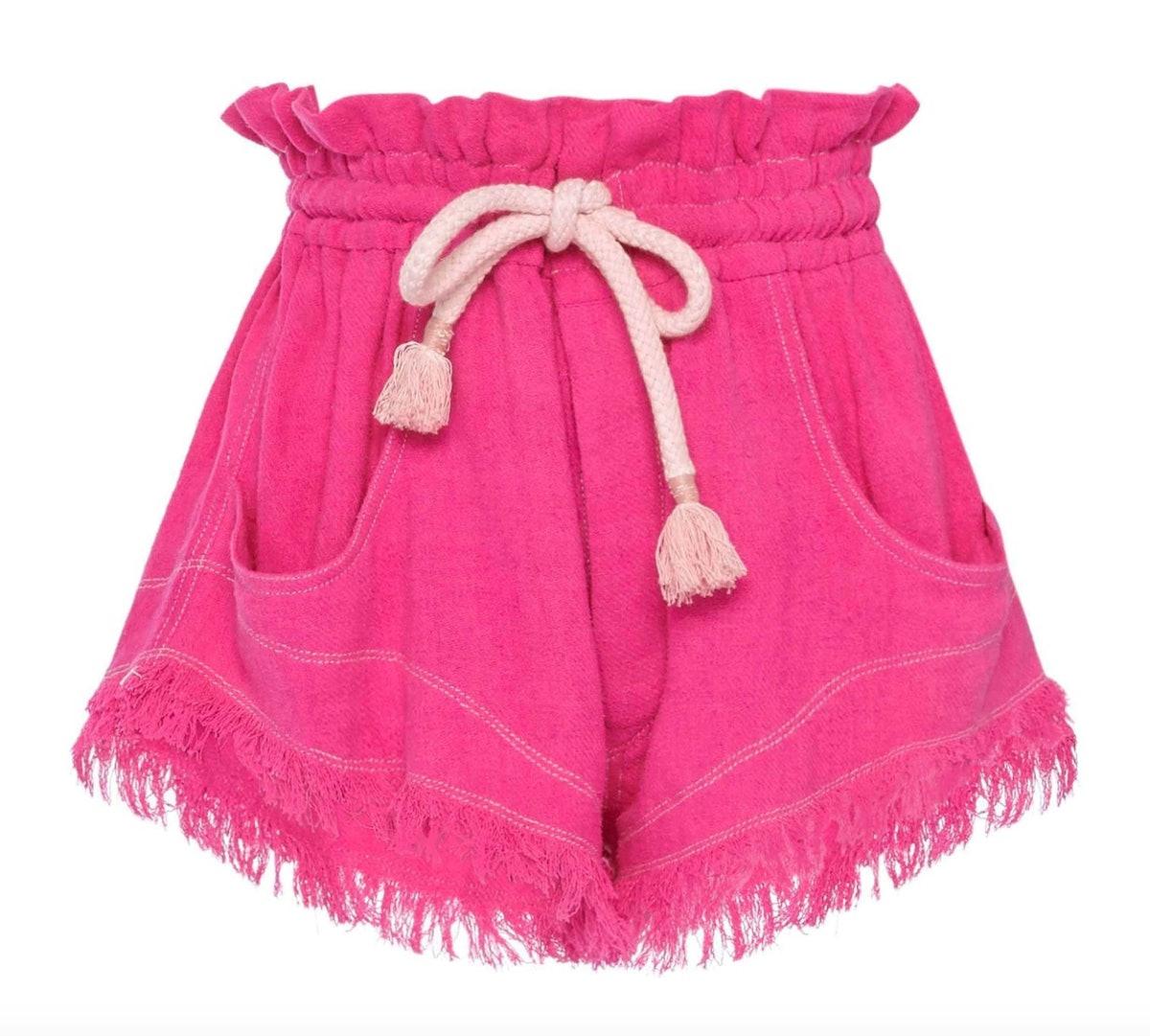 Talapiz Frayed Shorts
