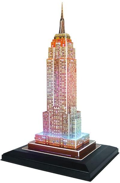 CubicFun LED Empire State Building 3D Puzzle