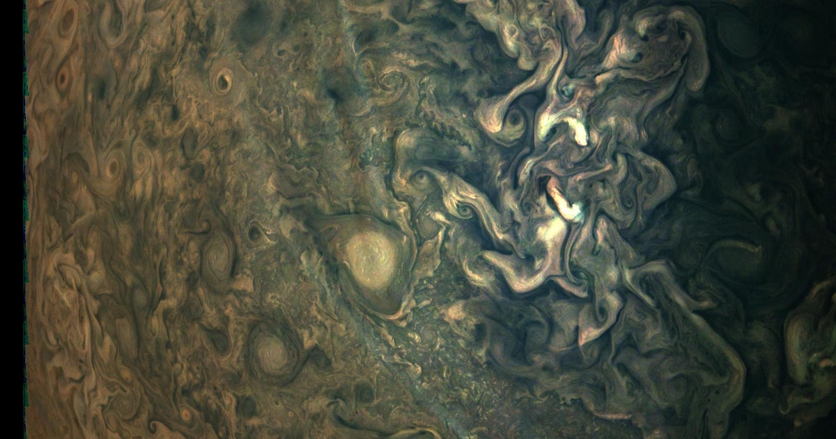 New Jupiter image looks more like a Monet painting than a planet