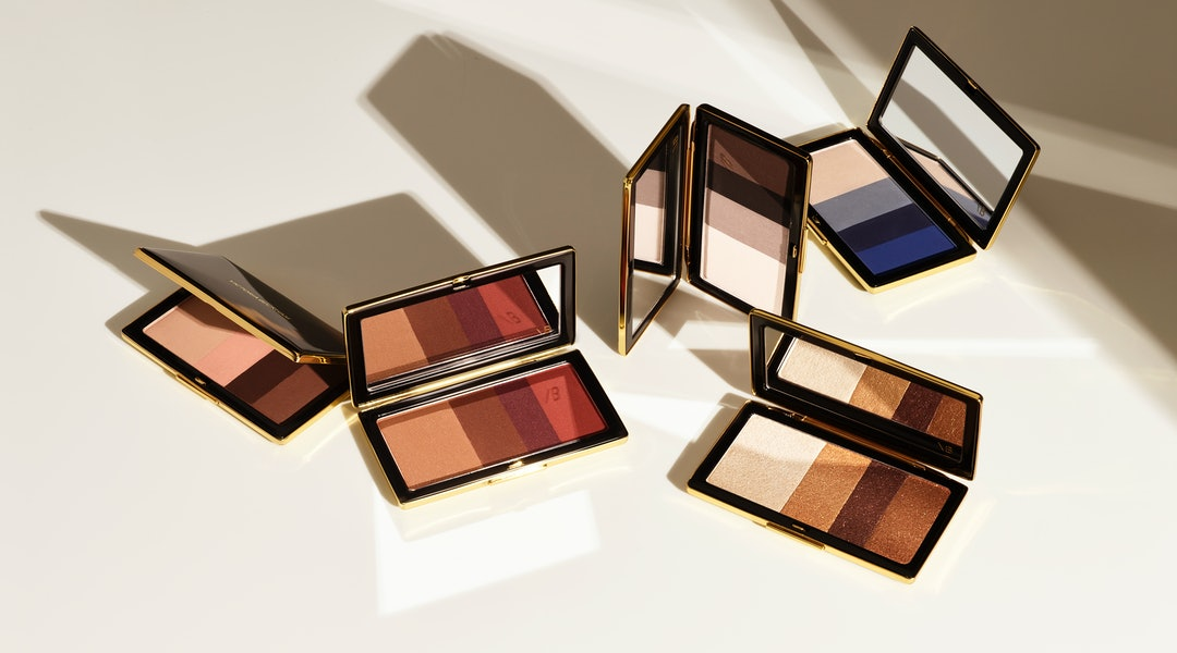 Victoria Beckham Beauty just introduced its Smoky Eye Brick in shimmery Silk
