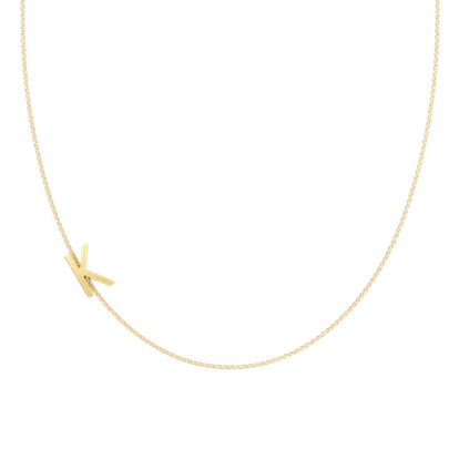 Chain Letter Maxi Necklace