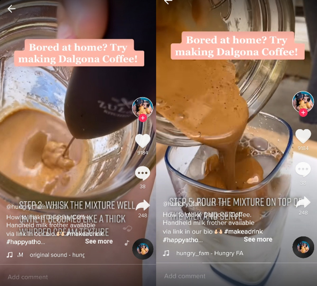 Here's how to make Dalonga coffee without a mixer, so you can try the viral sip.