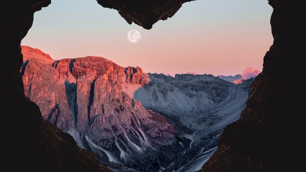 Romantic Full Pink Moon