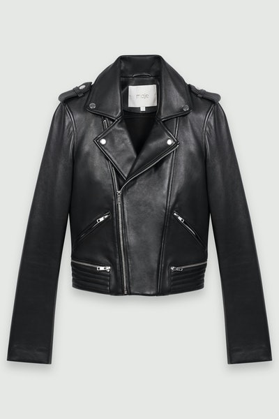Maje Leather BikerJacket