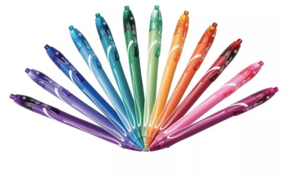 BIC Gel-ocity Quick Dry Gel Pens 0.7mm Medium Point Multicolor 12ct