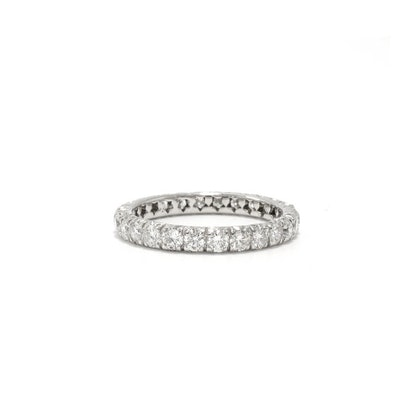 FRENCH CUT PAVÉ STAR ETERNITY BAND