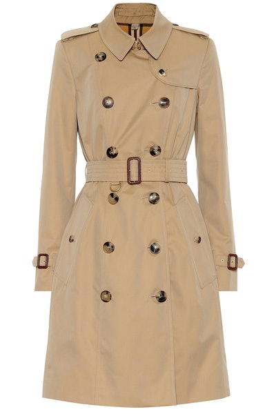Burberry The Chelsea Cotton Trench Coat