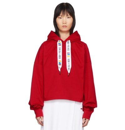 Red Collection 3 Wide Fit Hoodie