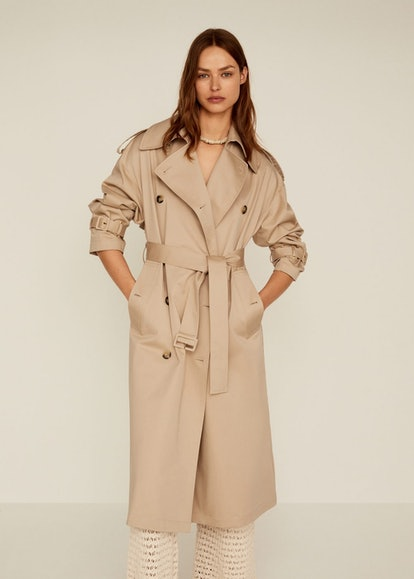 Double Breasted Trench