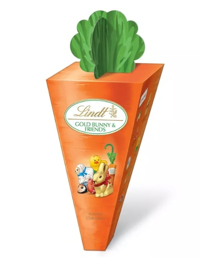 Lindt Easter Assorted Chocolate Gold Bunny & Friends Carrot