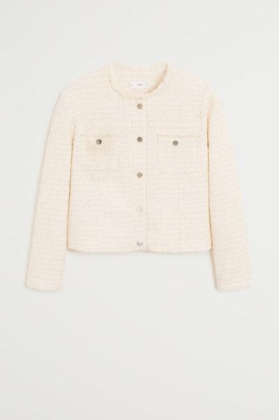 Mango Tweed Jacket